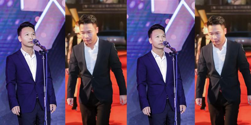 金骨朵网络影视盛典在京举行 颁奖红毯张浩率先开场惊喜亮相
